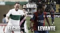 Previa Elche CF - Levante UD: duelo de gallitos en la parte alta
