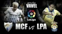 Previa Málaga CF - UD Las Palmas: resucitar para espantar fantasmas