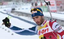 Biathlon: gli errori non fermano Fourcade, decimo successo nell'inseguimento di Ruhpolding