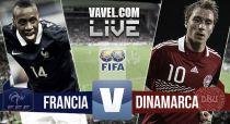 Resultado Francia - Dinamarca (2-0)