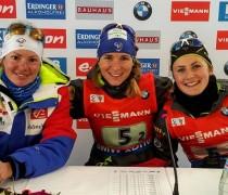 Biathlon, Anterselva: la Francia si impone nella staffetta femminile, quarto posto per l'Italia