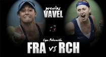 Fed Cup 2016. Francia - República Checa: a poner la guinda al pastel