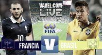 Resultado Francia vs Brasil en vivo (1-3)