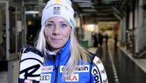 Sci Alpino, Lienz - Slalom Speciale femminile, 1° manche: duello Hansdotter - Holdener
