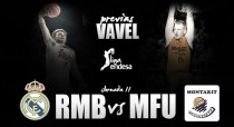 Real Madrid Baloncesto - Montakit Fuenlabrada: el derbi madrileño