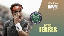 Wimbledon 2016. David Ferrer: bicho malo nunca muere