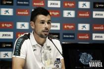 """Javi Fuego: """"El de Valencia será un partido complicado"""""""