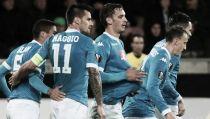 Napoli, 4-1 da show in Danimarca: Gabbiadini ne fa due, il Midtjylland crolla