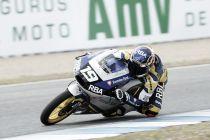 Moto3: Gabriel Rodrigo se despide con su primera pole