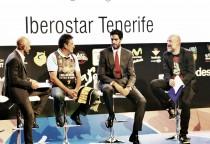 Beirán y Cabrera, muy ilusionados en la presentación de la ACB 2016/17