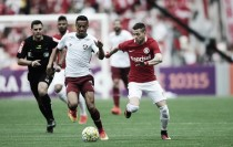 Internacional enfrenta Fluminense precisando de combinações para fugir do rebaixamento