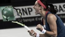 Caroline Garcia se convierte en la heroína francesa