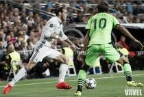 Gareth Bale, fuera del partido en Barcelona