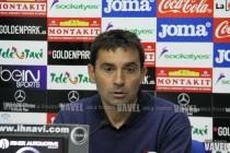 """Asier Garitano: """"Esto dependerá de lo que haga el Leganés. No miramos otros rivales"""""""