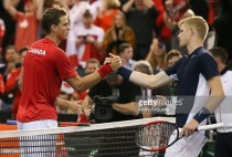 Davis Cup: Britain and Canada all square after opening day