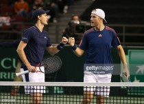 Davis Cup: Murray and Inglot win pivotal doubles rubber as Britain take control