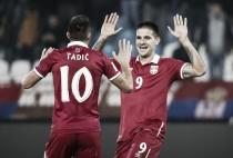 Qualificazioni Russia 2018 - Tadic e Mitrovic trascinano ancora la Serbia: vittoria 1-3 in Georgia