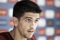 """Gerard Moreno: """"El equipo trabaja con ganas e ilusión para ganar en casa"""""""