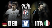 Previa Alemania - Italia: duelo de titanes