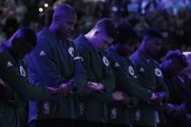 Los Celtics debutan con victoria frente a los Nets en un festival anotador