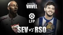 Previa Sevilla FC - Real Sociedad: el Sánchez Pizjúan para curar las heridas