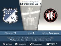 Millonarios tiene rival en la Libertadores 2017
