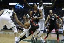 Cosa è successo fin qui nella serie tra Toronto Raptors e Milwaukee Bucks?