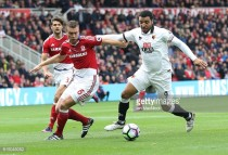 Middlesbrough player ratings from a home loss to Watford