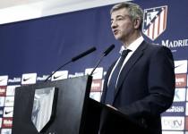 """Gil Marín: """"El futuro del Atlético de Madrid está garantizado"""""""