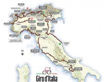 Parcours, coureurs, tout sur le Giro 2015