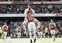 Arsenal 4-0 Aston Villa: Giroud bags trois as Villans bid au revoir to the Premier League