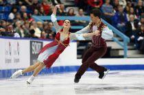 Pattinaggio, team event: Davis/White dominano nella danza, bene Guignard/Fabbri