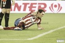 La defensa del Atlético, en cuadro