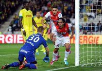 Falcao decide un gris partido del Mónaco en La Beaujoire
