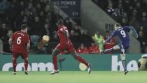 Un doblete de Vardy fulminó al Liverpool