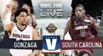 Gonzaga Bulldogs Beat South Carolina (77-73)