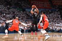 NBA Playoffs 2017, Houston corsara a OKC (113-109)