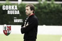 """Entrevista. Gorka Rueda: """"Contra el Bilbao Athletic será un partido bonito pero poco parecido al de pretemporada """""""