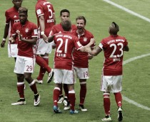 Bayern Munich 3-1 Hannover 96: Götze bags two as Bavarians round league campaign off in style