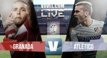Resultado Granada vs Atlético de Madrid 2015 (0-0)