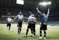Com gol de Braian Rodríguez, Grêmio bate Figueirense e conquista primeira vitória no Brasileiro