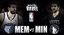 Previa Memphis Grizzlies - Minnesota Timberwolves: la hora de la verdad