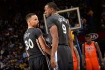 NBA - Ancora Golden State, cade Oklahoma alla Oracle: non bastano 40 di Durant (116-108)