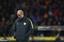 Guardiola takes blame for Manchester City's inconsistencies