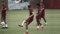 Selección Peruana culminó cuarto día de prácticas con Pizarro y Guerrero a la cabeza