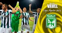 Guía VAVEL Liga Águila 2016-I: Atlético Nacional