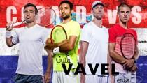Copa Davis: el camino de Croacia a la final