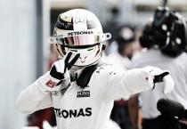 """Lewis Hamilton: """"Me siento muy orgulloso de igualar a Senna y Fangio"""""""