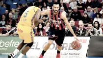Baskonia se beneficia de la montaña rusa y es equipo de Playoff