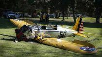Harrison Ford, fuera de peligro tras estrellarse con su avioneta